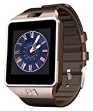 Bybest z-01 DZ09 Bluetooth Smart Watch with Camera for Samsung S5/Note 2/3/4, Nexus 6, HTC, Sony - Gold