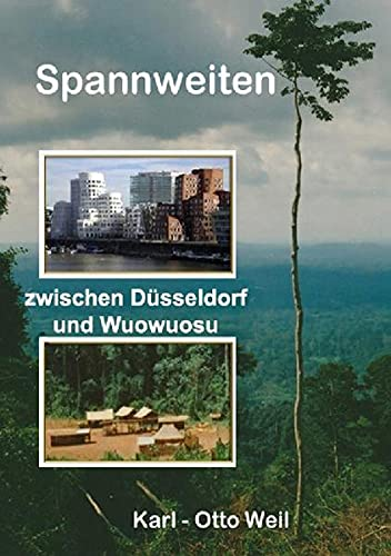 Spannweiten zwischen Düsseldorf und Wuowuosu