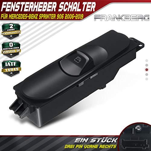 Fensterheber Schalter Vorne Rechts für Sprinter 3-T 3,5-T 4,6-T 906 2006-2019 A9065450913