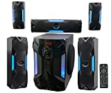 "Best Home Stereo Systems - Rockville HTS56 1000w 5.1 Channel Home Theater System/Bluetooth/USB+8"" Review"