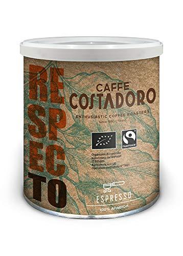 CAFFE' COSTADORO Caffè Costadoro Respecto Arabica Espresso Kaffee Dose, 250 g