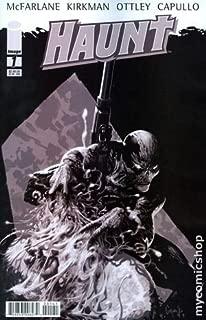 Haunt #1 Greg Capullo Variant Cover Black and White (Haunt, Volume 1)