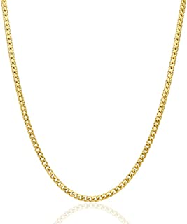 """Solid 14K Yellow Gold 4mm Franco Chain Necklace 24"""" 26"""" 28"""" 30"""", 28"""