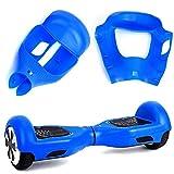 Willdo Silicone Cove para 6.5'2 Wheels Balance Scooter - Balance Hover Board Protector Funda Cubierta (Azul)