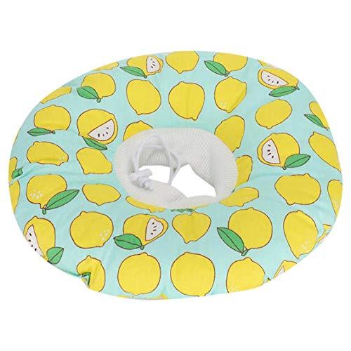 Katze Gelb Zitrone Elizabeth Circle - Es kann Ihrem Haustier helfen, Kratzer und Lecken nach dem Medikament zu verhindern, hilft dem Haustier, das Haustier zu erholen, und vermeiden Sie eine Sekundäri