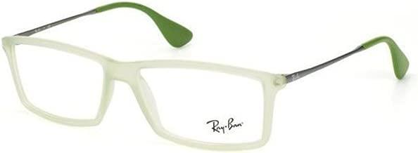 Ray-Ban RX7021-5366 Eyeglasses RUBBER GREEN 55mm
