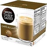 Nescafe Dolce Gusto, Café Au Lait, 16 Cápsulas