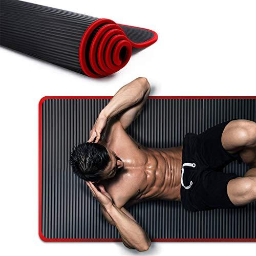N-B Yoga Mat Thickened Men and Women Fitness Tasteless Pilates Fitness Mat Non-Slip Pillow