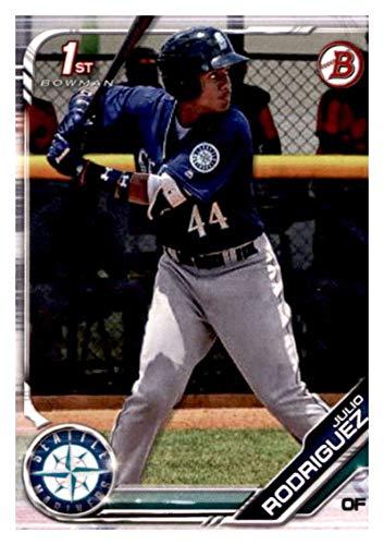 2019 BOWMAN PROSPECTS #BP-33 JULIO RODRIGUEZ MARINERS BASEBALL MLB