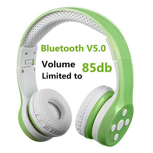 bester Test von bluetooth kopfhorer kinder Kinderkopfhörer mit Bluetooth, Kinderkopfhörer mit Hisonic Wireless Volume Limit…