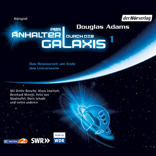 Per Anhalter durch die Galaxis 1 audiobook cover art