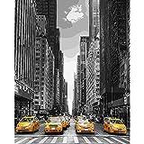 ZXDA Cuadro de Marco por números Paisaje Ciudad Lienzo Dibujo Kits Pintados a Mano Pinturas acrílicas Arte decoración de Pared A10 40x50cm