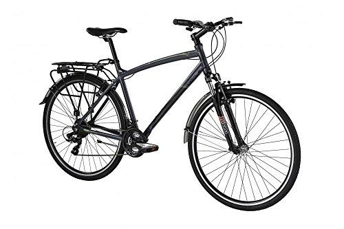 Bicicletta TOURING da uomo di Alpina con telaio in alluminio 50 cm Grigio