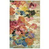 Mohawk Home Home Blurred Blossoms Printed Area Rug, Multicolor, 8'x10'