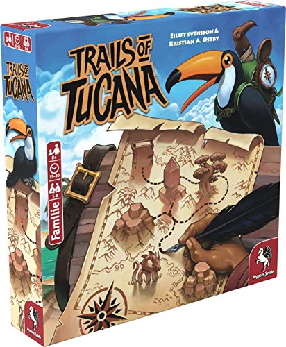 Pegasus Spiele 53150G - Trails of Tucana (deutsche Version)