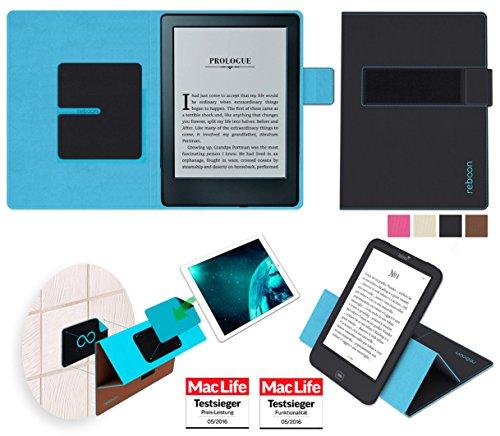 Hülle für Amazon Kindle (2016) Tasche Cover Hülle Bumper | in Schwarz | Testsieger