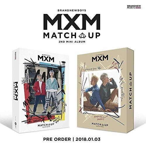 MXM BRANDNEWBOYS - MATCH UP [M+X ver. SET] (2nd Mini Album) 2CD+Photobook+On Pack Poster+2Photocards