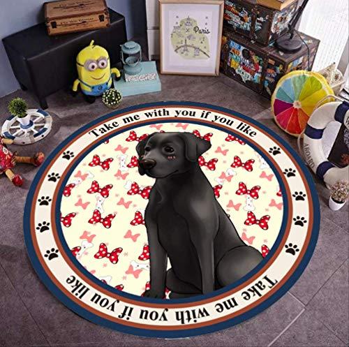 Pet Mat Salbei Hund Katze Four Seasons Rutschfester runder Teppich Große und mittlere Hundehütte Hundematte Katzenmatte Tischset
