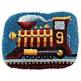 DATOU Kits De Gancho De Pestillo Bricolaje De Puntada Cruzada De La Alfombra De Bordado con Lienzo Impreso para La Decoración del Hogar(Size:52x38cm)