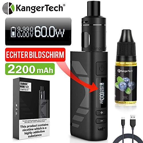E Zigarette Starter Set Kangertech 60W 2200mAh Subox Mini V2 OLED...