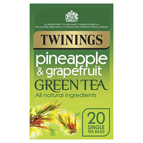 Twinings - Pineapple & Grapefruit Green Tea - 20 Tea Bags - 40g