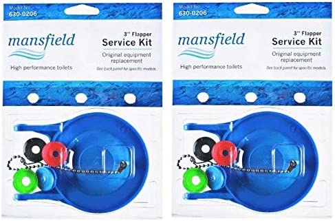 Mansfield Plumbing 630-0207 Univ Flapper Рack Max 77% OFF Kit 3 of inch Quality inspection