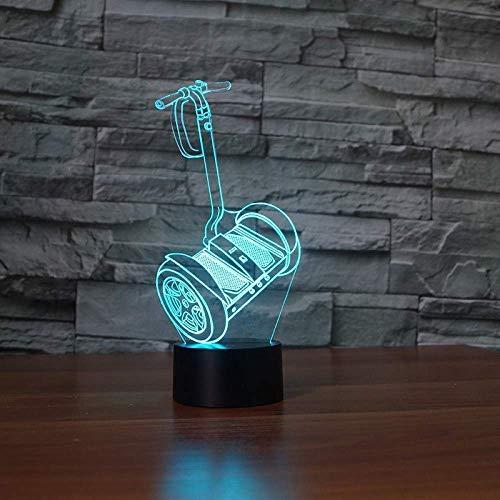 Lámpara De Mesa De Coche De Equilibrio 3D, 7 Colores Que Cambian, Lámpara De Escritorio Táctil, Luces De Noche Para Dormir Para Bebés, Dormitorio, Decoración De Cabecera, Regalos