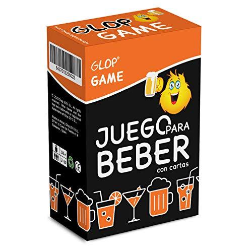 Glop Game - Juego para Beber - Juego de Mesa para Fiestas con Amigos - Juego de Cartas para Beber - 100 Cartas