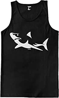 Shark Silhouette - Great White Hammerhead Men's Tank Top