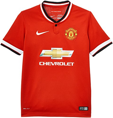 Nike Manchester United Boys Home Soccer Jersey (Red) Youth Large