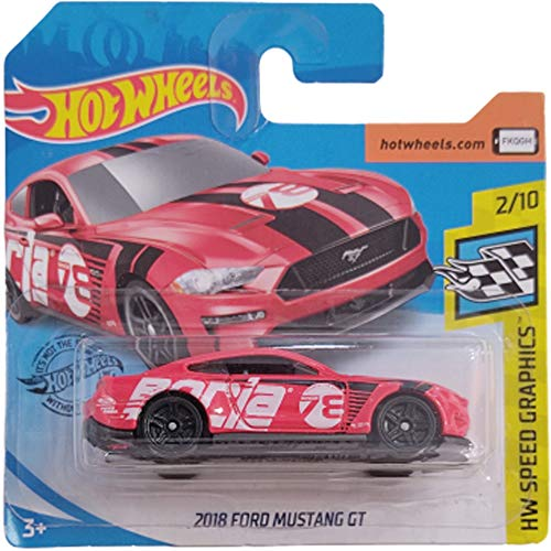 Hot Wheels 2018 Ford Mustang GT 2/10 HW Speed Graphics 2020 92/250