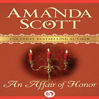 An Affair of Honor audiobook cover art
