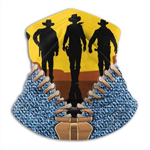 ShiHaiYunBai Tour de Cou Cagoule Microfibre Chapeaux Tube Masque Visage, I Am A Cowboy Fleece Neck Warmer - Reversible Neck Gaiter Tube, Versatility Ear Warmer Headband & For Men And Women