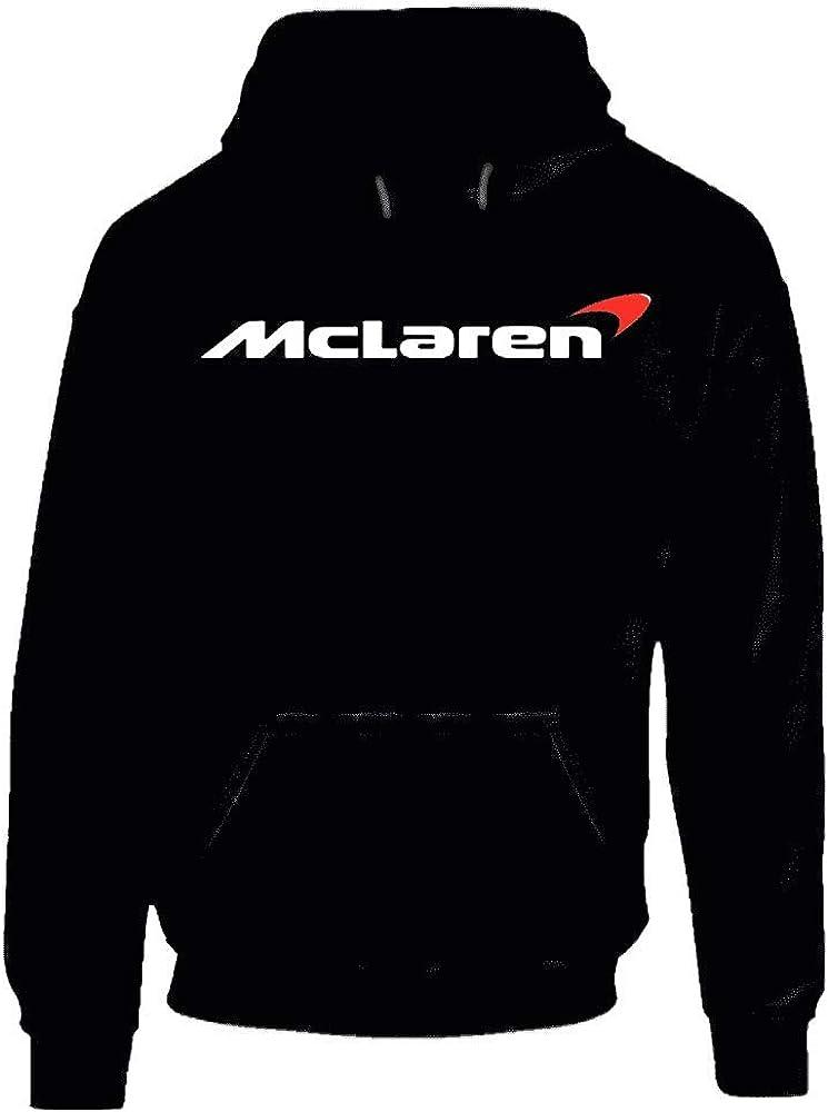 Sudadera con capucha Mclaren con logotipo de Voiture.: Amazon ...