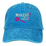 Casquillos de béisbol de los hombres cosméticos de la industria del artista del maquillaje, retro ajustable clásico sombrero del regalo del papá para los hombres/las mujeres