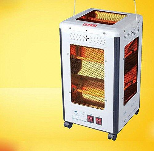 NQ Quot; Cuarteto Estufa Estufa Manija Calefactor Calefacción Eléctrica Ventilador de Calefacción,Blanco