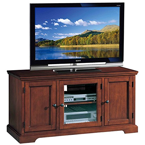 Price comparison product image Leick Riley Holliday Westwood TV Stand,  50-Inch,  Brown Cherry