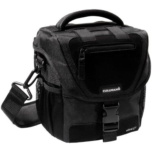 Cullmann Ultralight CP Maxima 100 SLR-Kameratasche (für DSLR mit Objektiv, zusätzlichem Blitzgerät + Zubehör) schwarz