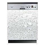 Stickers Lave Vaisselle Gouttes d'eau - LAV-007-60x60 cm