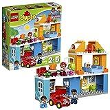 LEGO DUPLO Town - Casa Familiar de Juguete de Preescolar con Muñecos y Coches para Niños y Niñas de 2 a 5 Años,...