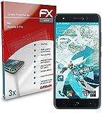atFolix Schutzfolie kompatibel mit bq Aquaris X Pro Folie, ultraklare & Flexible FX Bildschirmschutzfolie (3X)
