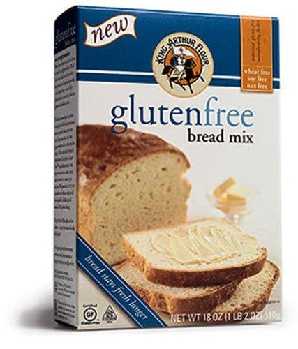 King Arthur Bread Mix - Gluten Free, 18.2500-Ounce
