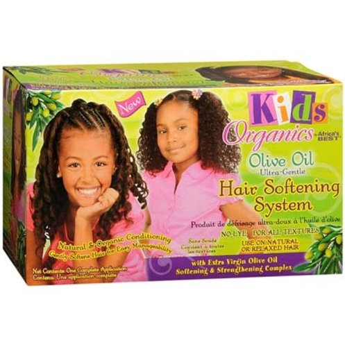 Africas Best Kids Organics Olive Oil Hair Softening Sys