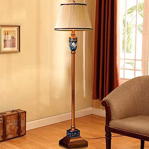 Brightz Lámpara de pie, Luces Lámpara de pie Vase Europeos Luces de Suelo for Diseñador Sala American Country El Estudio Decora la
