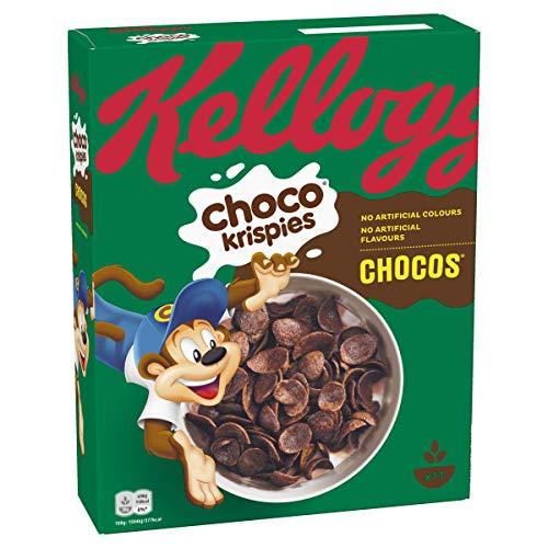 Kellogg's Choco Krispies Chocos Cerealien | Einzelpackung | 330g