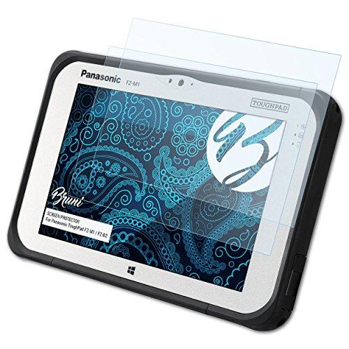 Bruni Schutzfolie kompatibel mit Panasonic ToughPad FZ-M1 / FZ-B2 Folie, glasklare Bildschirmschutzfolie (2X)
