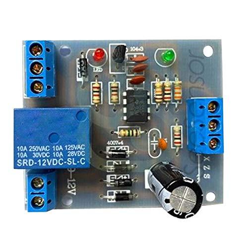 Bonarty Módulo de Interruptor de Controlador de Nivel de Líquido ABS Sensor de Nivel de Agua AC-DC 9V-12V