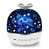 Rechargeable Star Night Light Projector, 6 Projector Films...