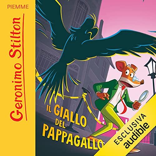 Il giallo del pappagallo copertina