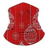 Kaixin J Doodle Bolas Guirnaldas Decoradas Navidad Esquí Clima frío Cara Cuello...